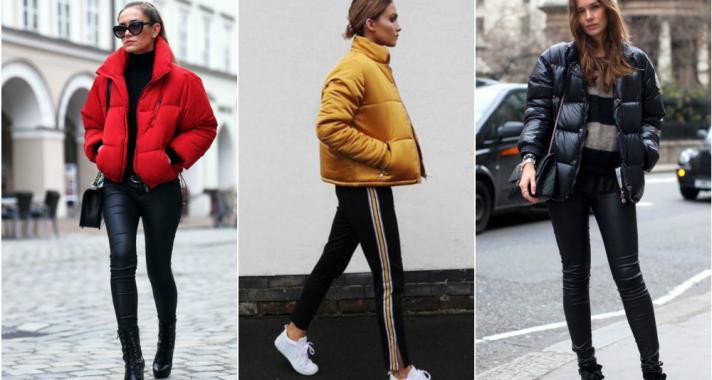 Stílusiskola: cseppet sem fog zavarni a tél egy csinos pufi dzsekiben