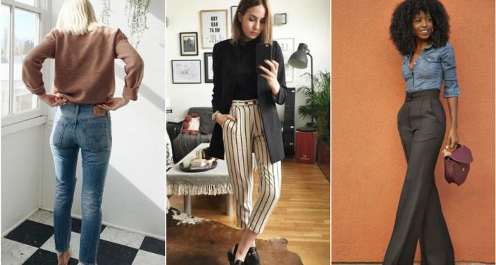 Stílusiskola: így viselj magas derekú nadrágokat