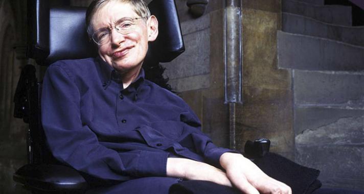 Képek Stephen Hawking életéből