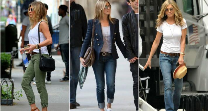 Stílusiskola: hétköznapi, mégis csinos outfitek, amiket bármikor kölcsön vennénk Jennifer Aniston-tól
