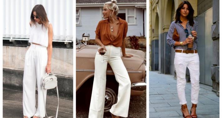 Stílusiskola: így viselj fehér nadrágokat idén nyáron