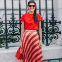 Stílusikola: így viselj nyáron pirosat