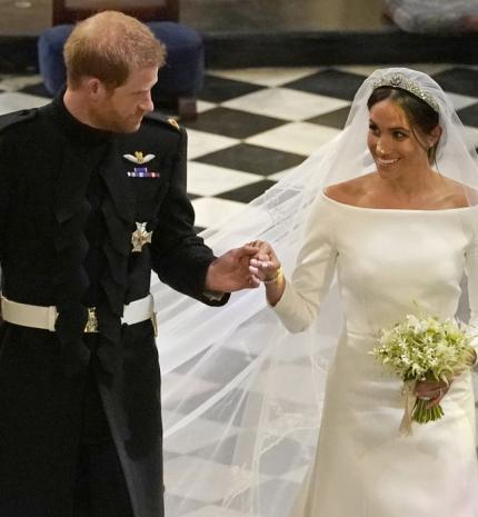 Képekben Meghan Markle és Harry herceg esküvője