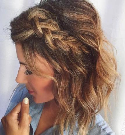 Top10: csodás fonat ötletek rövidebb hajhoz