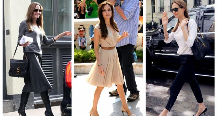Stílusiskola: outfit ötletek Angelina Jolie-tól