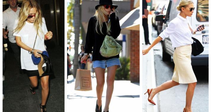Stílusiskola: a legjobb outfit ötletek Mary-Kate és Ashley Olsen-től