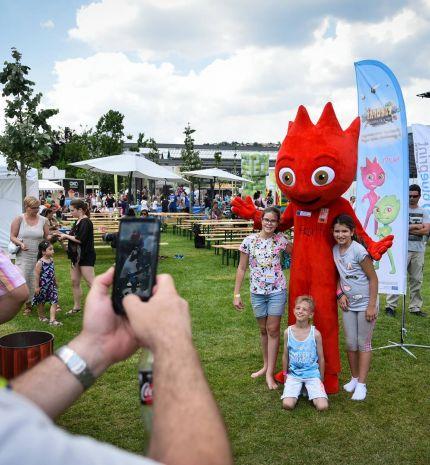 Több száz gyermekkel ismertették meg a zöldség és gyümölcs fogyasztás élményét a hétvégén