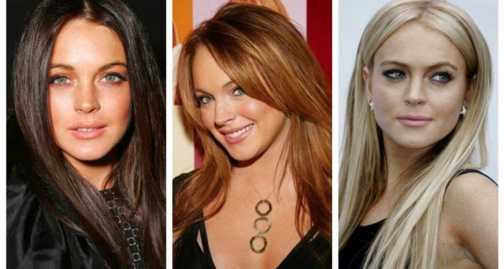 Top10: frizura ötletek Lindsay Lohan-től
