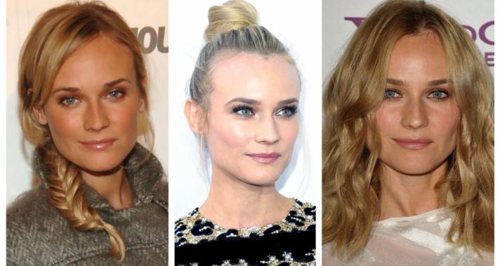 Top10: frizura tippek Diane Kruger-től