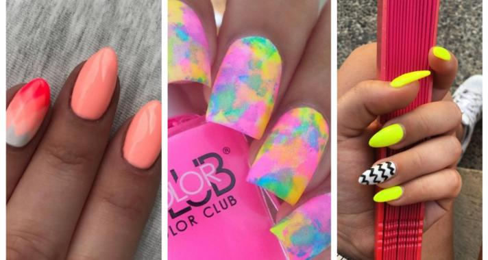 Top10: neon manikűr