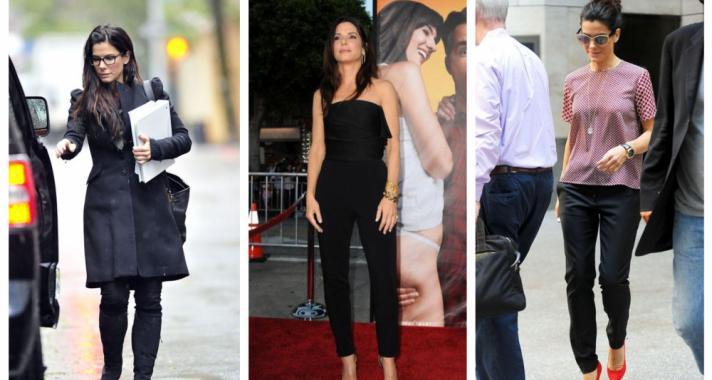 Top10: outfit ötletek Sandra Bullock-tól