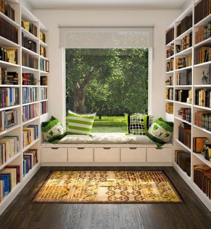 Home decor tipp: csodás könyvespolcok