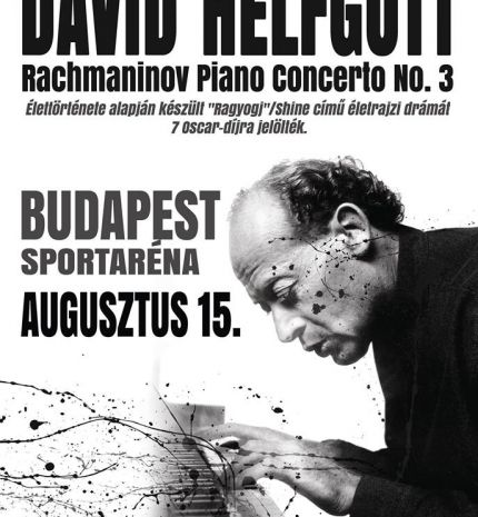 Az Art Anzix Színház bemutatja:David Helfgott: Rahmanyinov 3. zongoraverseny