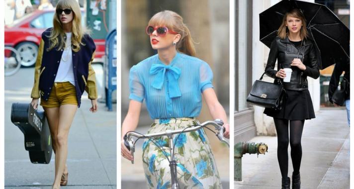 Stílusiskola: outfit ötletek Taylor Swift-től
