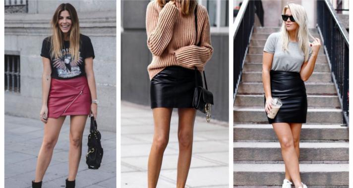 Stílusiskola: így viselj (mű)bőrszoknyákat