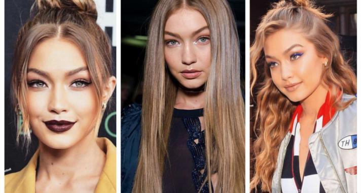 Top10: frizura ötletek Gigi Hadid-tól