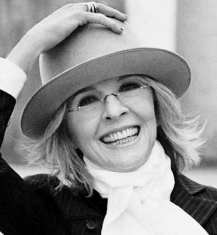 """""""A félelem megnyomorítja a lelket, tehát le kell küzdeni."""" Idézetek Diane Keatontől"""