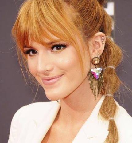 Top10: frizura ötletek Bella Thorne-tól