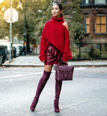 Stílusiskola: így viselj ősszel pirosat