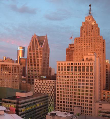 Váratlan utazás Detroit-ban