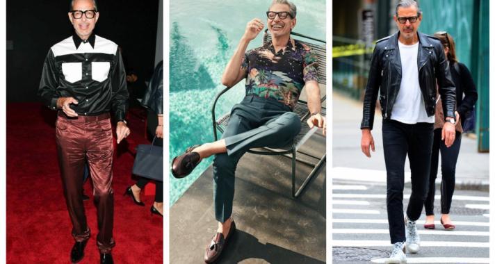 10 alkalom, amikor Jeff Goldblum megmutatta, milyen, ha egy férfi igazán stílusos