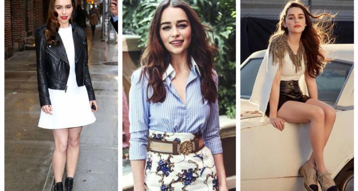 Stílusiskola: outfit ötletek a mindig csodás Emilia Clarke-tól