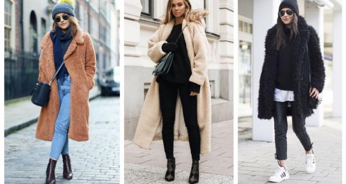 Stílusiskola: így viselj idén ősszel teddy coat-okat