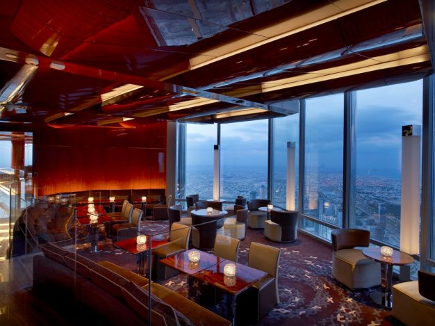 Luxusétterem a világ tetején