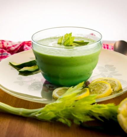 Meleg ellen: hideg avokádó leves