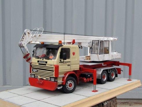 Egy évig építettem: Scania - Gottwald autódaru