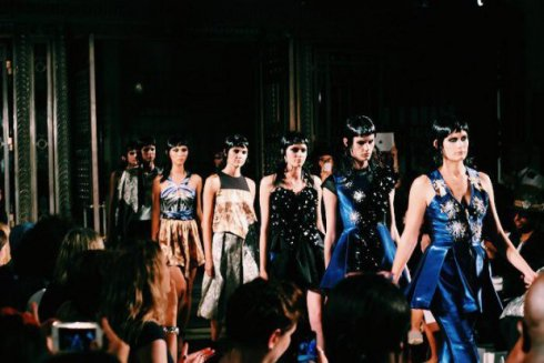 Abodi Dóra a londoni Fashion Week-en debütált