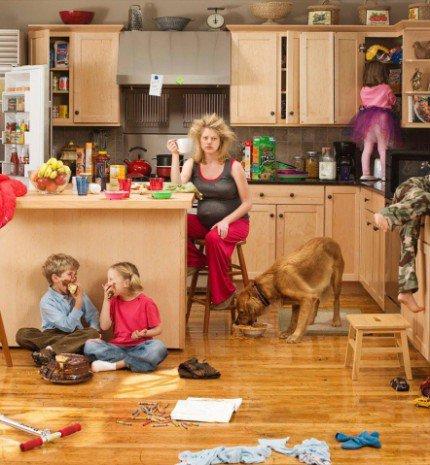 Amit sose mondj egy háztartásbeli anyukának