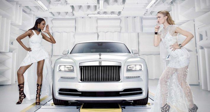 A divat ihlette Rolls Royce Wraith