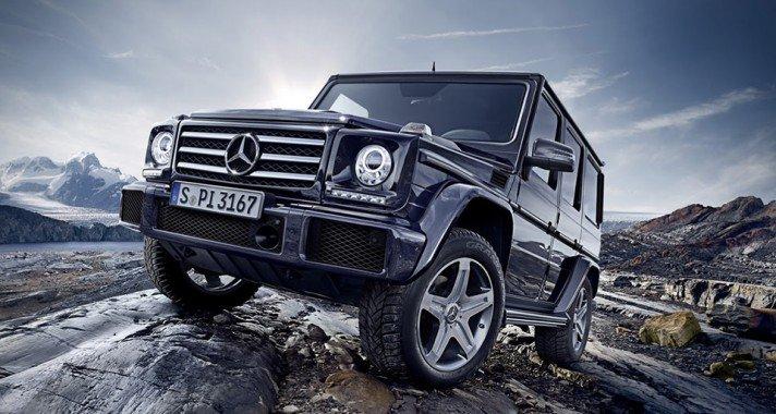 2016-ban: Mercedes-Benz G-Osztály