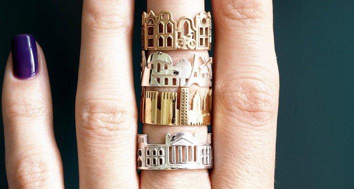 Ékesítse kedvenc városod látképe az ujjaidat!