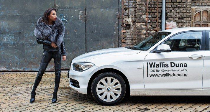 Tücsi, a BMW gyönyörű márkanagykövete!