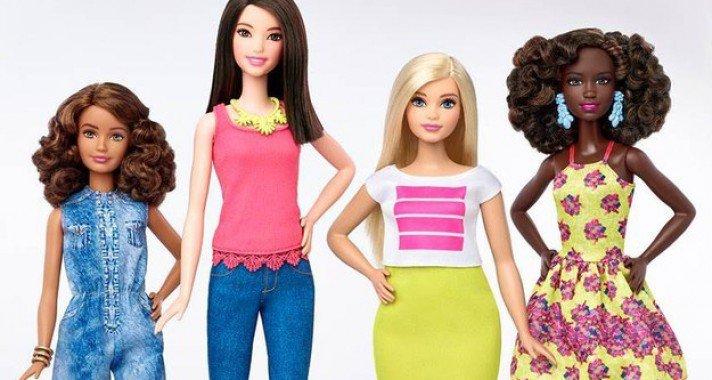 A Barbie babák mostantól majdnem annyira különbözőek, mint amilyenek mi vagyunk