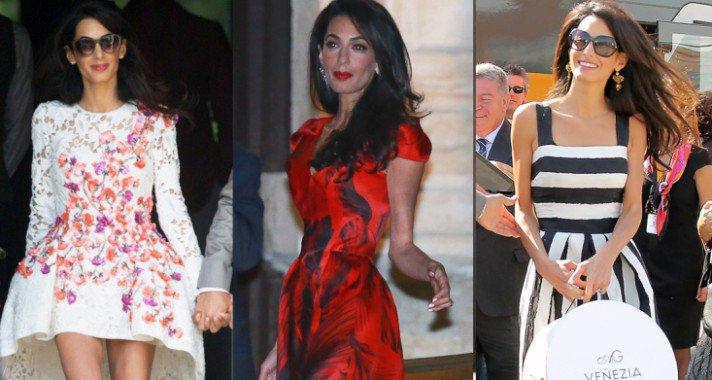 33 alkalom, amikor Amal Clooney jobban öltözött fel bárkinél