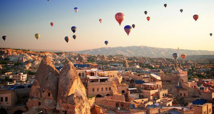 Tündérország – a törökországi Kappadókia