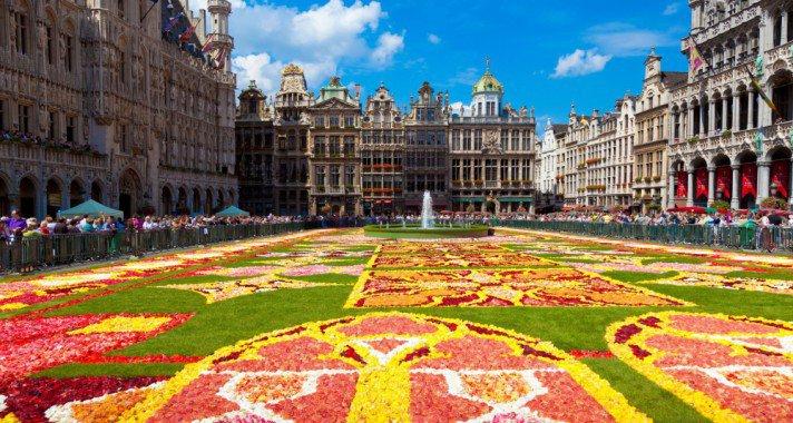 Brüsszel, tavasszal