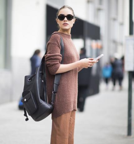 Stílusiskola: Így viseld a hátizsákot