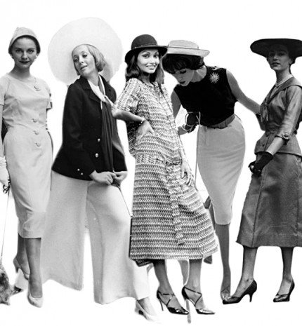 Vintage steet style fotók - a régi idők stílusos nőitől