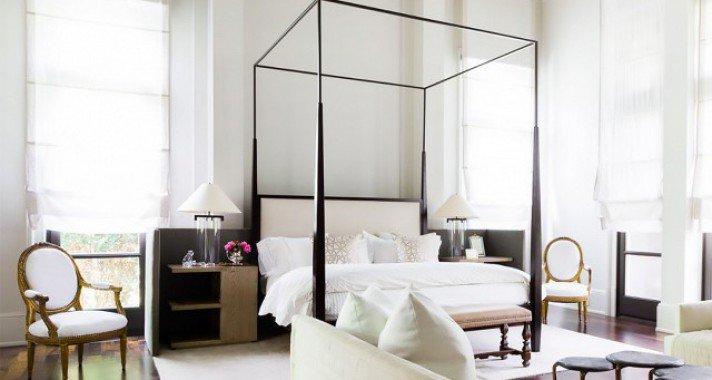 14 androgün hálószoba, amelybe szívesen beköltöznénk a párunkkal