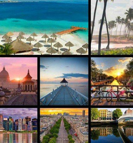 8 legszebb úticél a világon, amit látnod kell idén nyáron