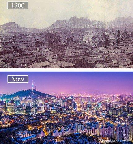A múlt, a jelen és a jövő közötti különbség csak illúzió - 10 világváros régen és most