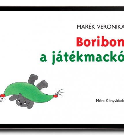 Digitális formában jelenik meg a Boribon, a játékmackó