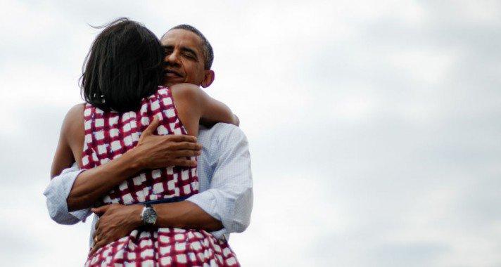 Michelle és Barack Obama legédesebb pillanatai, képekben