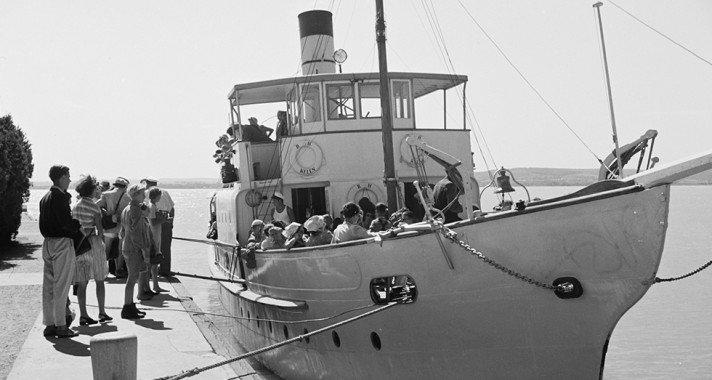 """""""Nekem a Balaton a Riviéra…"""" – Retro képek a balatoni nyárról"""