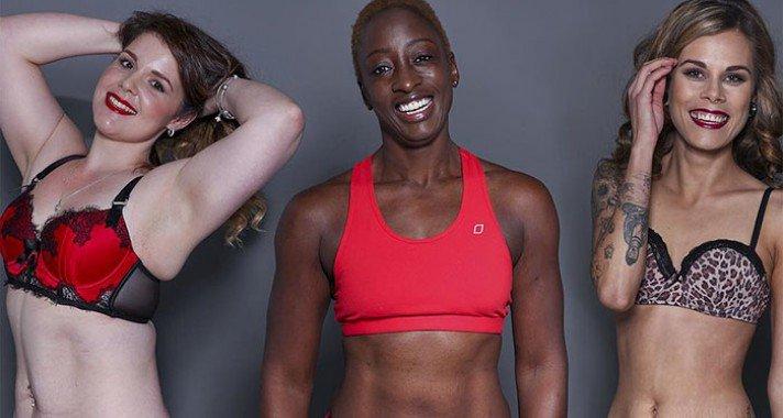 Inspiráló fotóprojekt bátor nőkről, ruha nélkül