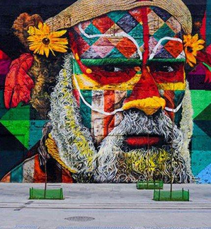 Elkészült a világ legnagyobb falfestménye a 2016-os Olimpiára